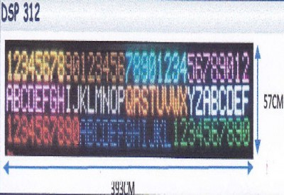 LED DISPLAY COLOUR DSP 312