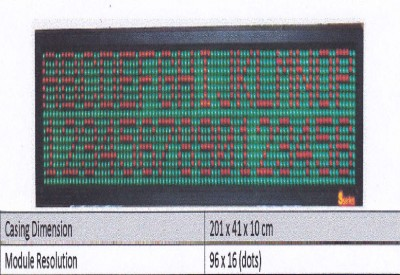LED DISPLAY COLOUR OS 26