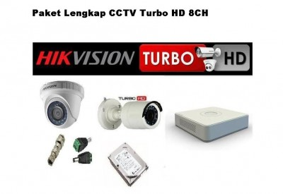 PAKET HIKVISION IPCAM 4CH